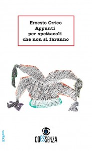 Appunti per spettacoli che non si faranno - artwork di copertina: Raffaele Cimino